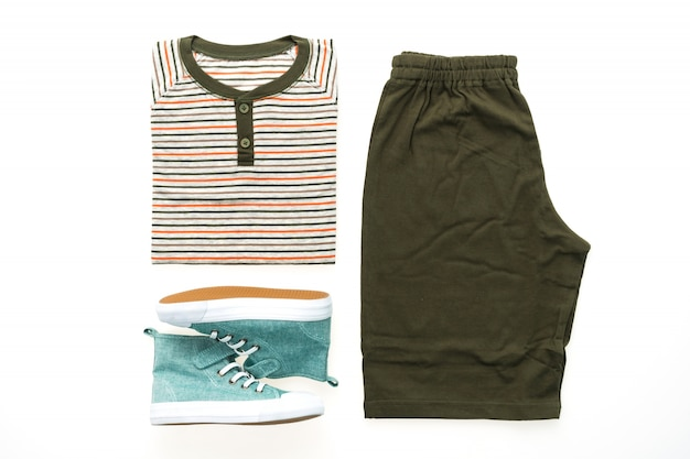 T Shirt With Pants And Shoes Photo Free Download
