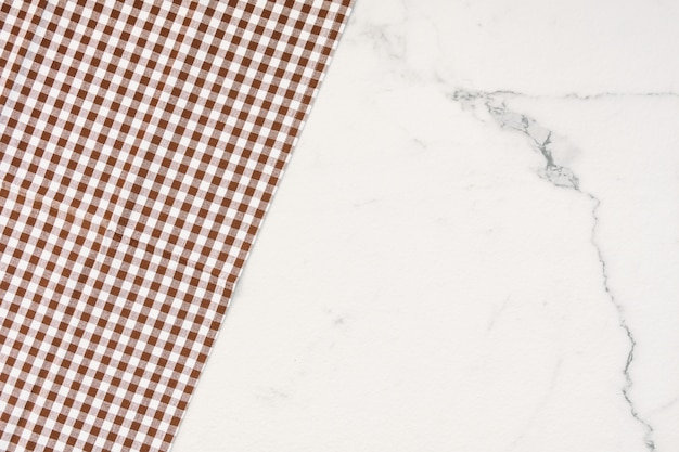 Table cloth with copy space Free Photo