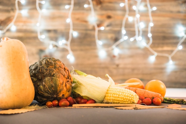 Table covered with different vegetables Free Photo
