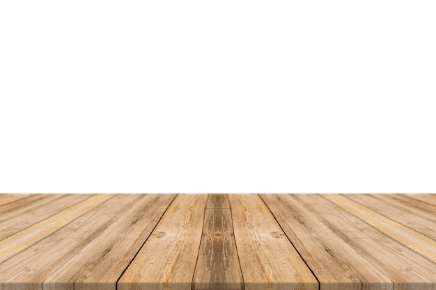 Table made with planks Free Photo