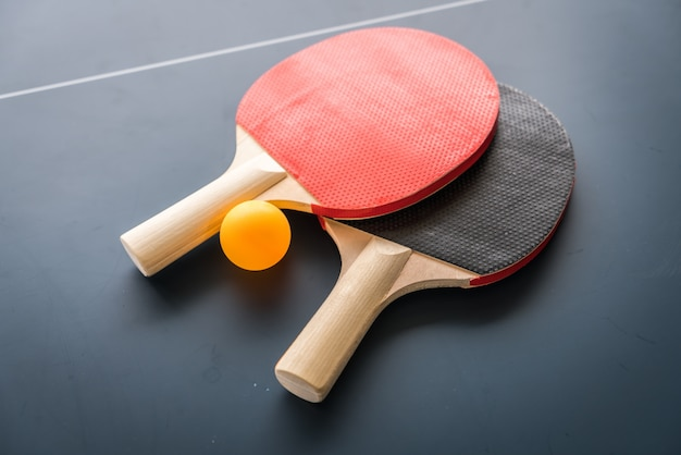 Table tennis or ping pong Free Photo
