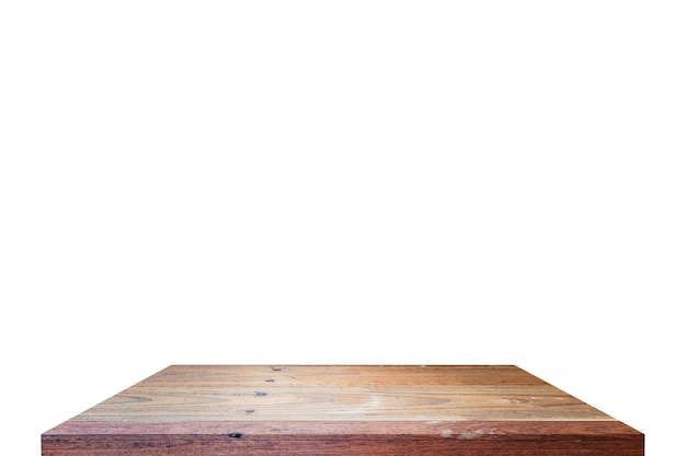 Table top on isolate Free Photo