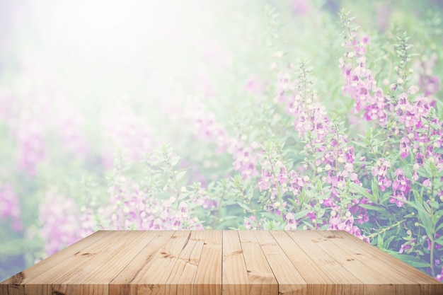 Table top with background Free Photo