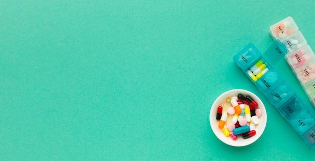 Tabletki z codzienną kuracją Pigułki Darmowe Zdjęcia