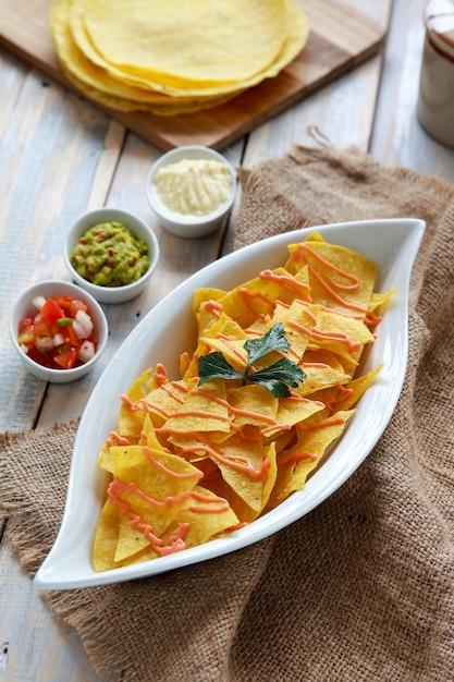 tacos chips Premium Photo