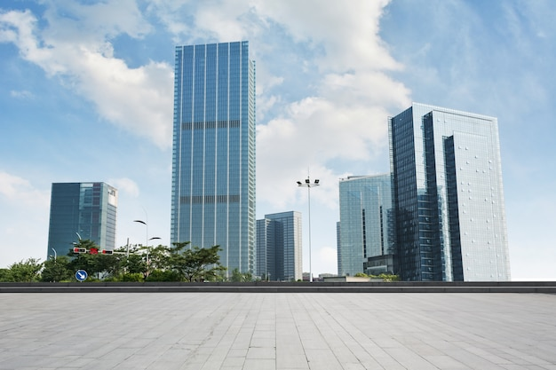 Tall glass buildings Free Photo