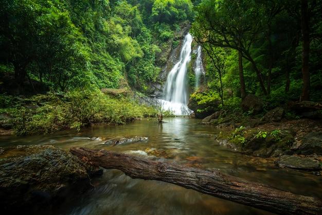 プーケットタイのtamnung滝 Premium写真