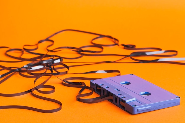Tape from cassette Free Photo