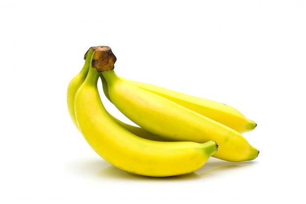 Tasty banana isolated Premium Photo