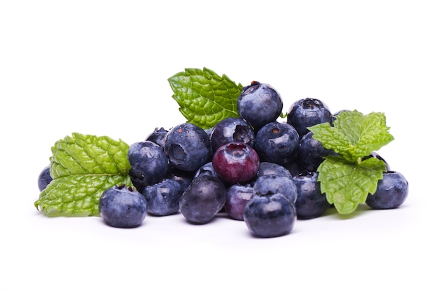 Tasty blueberries Premium Photo