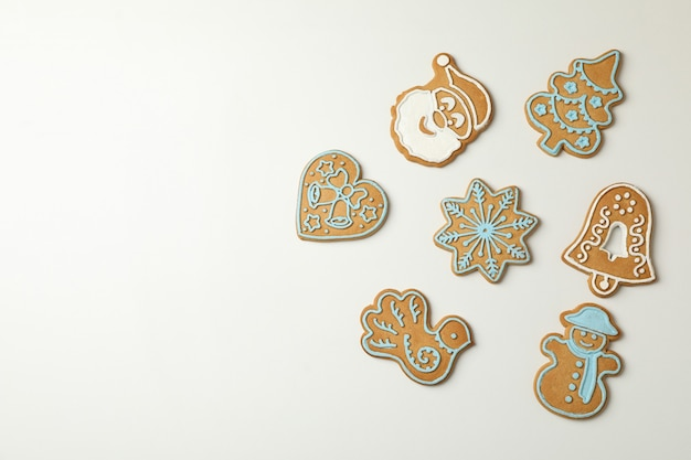 Вкусное рождественское печенье Premium Фотографии