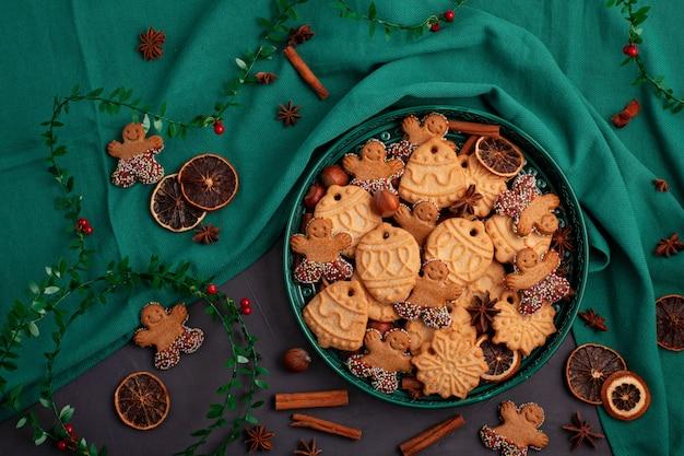 Tasty Homemade Christmas Cookies Photo Premium Download