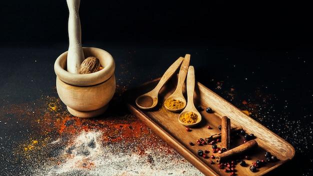 Tasty spices Free Photo