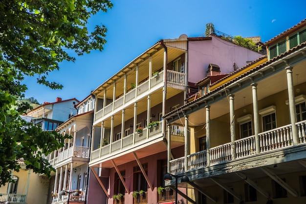Tbilisi's downtown, georgia Premium Photo