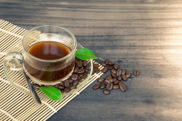 Tea and coffee beans Premium Photo