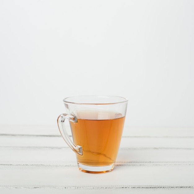 Tea composition with copyspace Free Photo