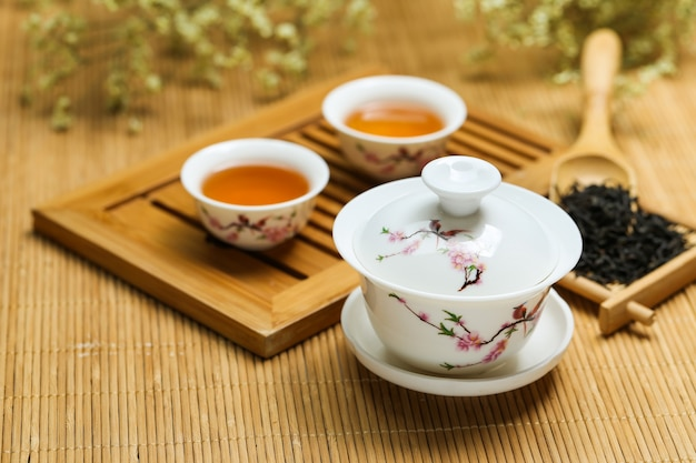 tea set Free Photo