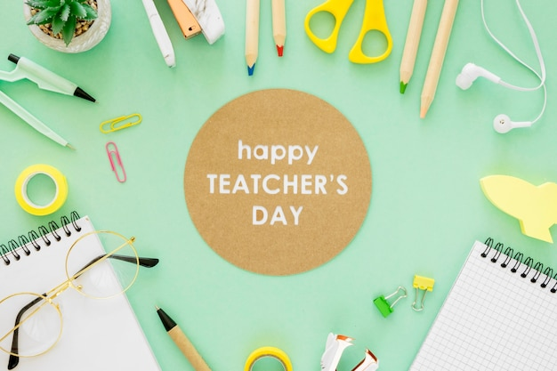 Concetto di evento del giorno dell'insegnante Foto Gratuite