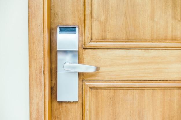 Teak lock home protection system Free Photo