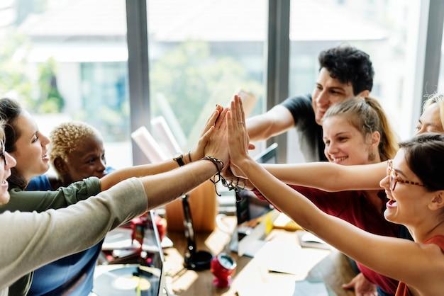 Teamwork Premium Photo