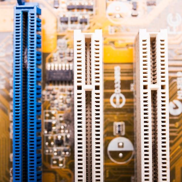 Technology background texture Free Photo