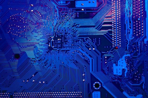 Technology background texture Premium Photo