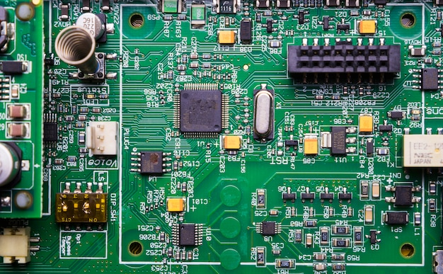Technology texture background Free Photo