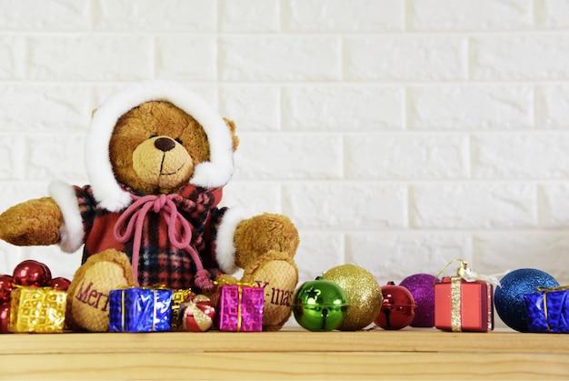 2019 Christmas Teddy Bear Teddy bear christmas tree background and 2019 happy new year