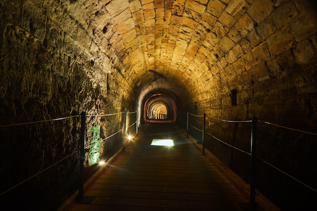 Templars tunnel acre Premium Photo