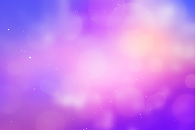 Template giftcard sky and glowing purple Premium Photo