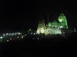 Temple at night Free Photo