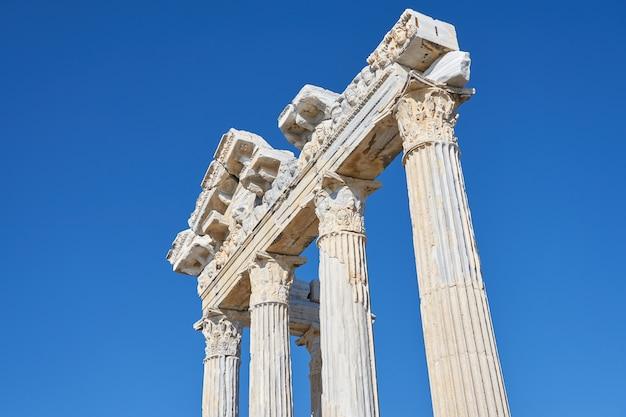 アポロ神殿の風景 Premium写真