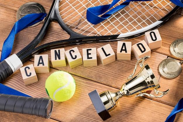 Игра в теннис приостановлена Бесплатные Фотографии