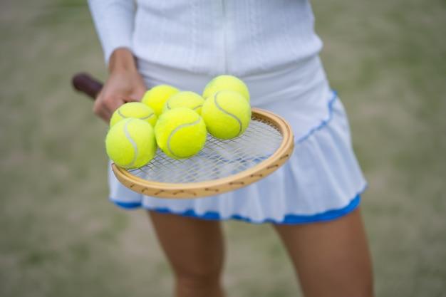 Tennisattributes, balls Free Photo