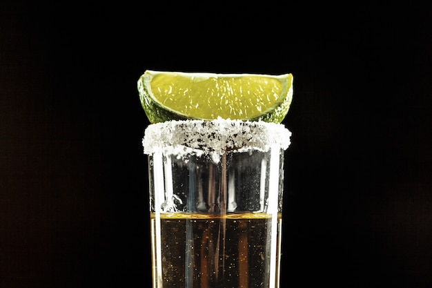 Tequila shot Premium Photo