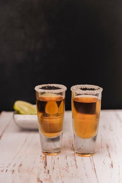 Tequila shots Free Photo