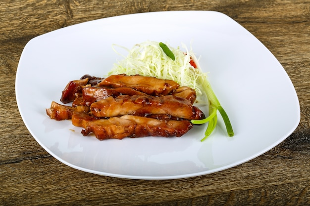 Teriyaki chicken Premium Photo