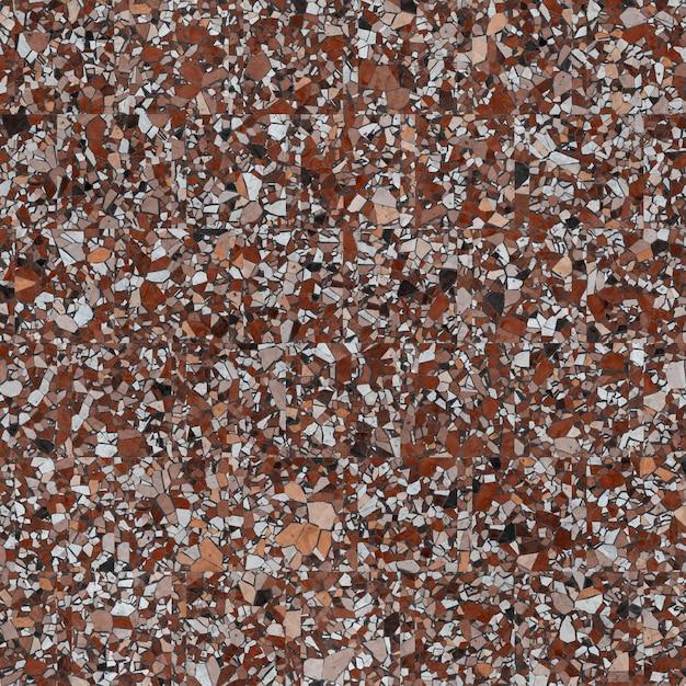 Пол терраццо, мраморная поверхность, бесшовная текстура. Premium Фотографии