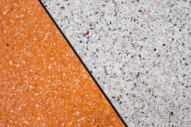 Terrazzo polished stone floor and wall Premium Photo