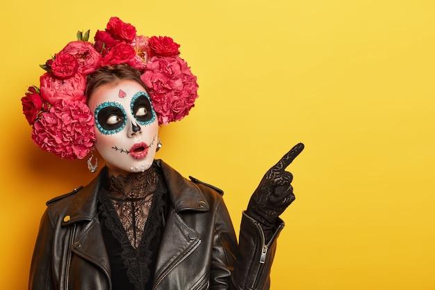 Terrified Woman Wears Professional