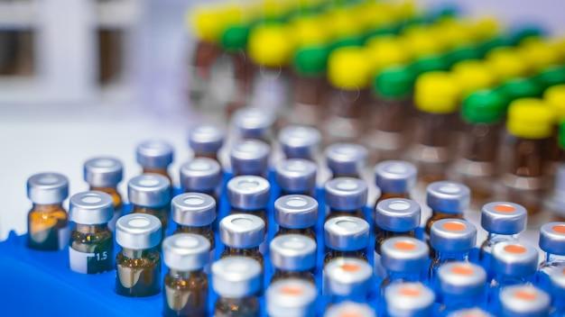 Test tube in science laboratory Premium Photo