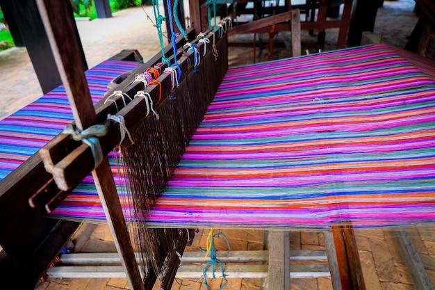 タイの繊維生産 Premium写真