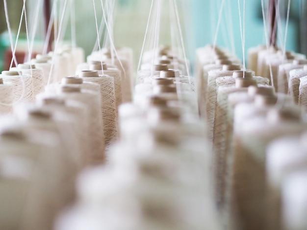Textile threads industry Premium Photo