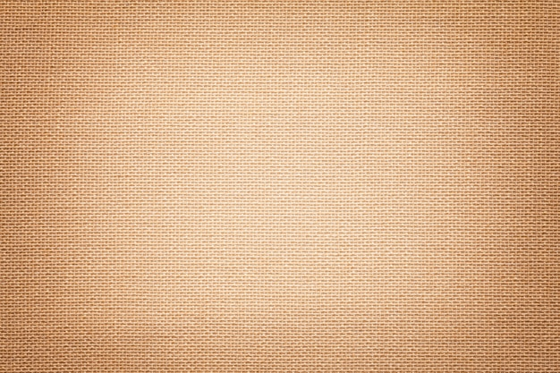 明るい茶色のtextile素材、クローズアップで繊維素材。 Premium写真