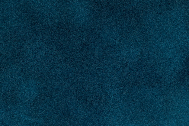 青いビロードのtextilr、クローズアップの背景 Premium写真