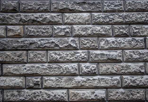 Текстурный фон старой каменной стены из известняка Premium Фотографии