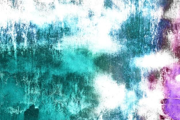 Текстура фон металлической стены с трещинами и царапинами Premium Фотографии