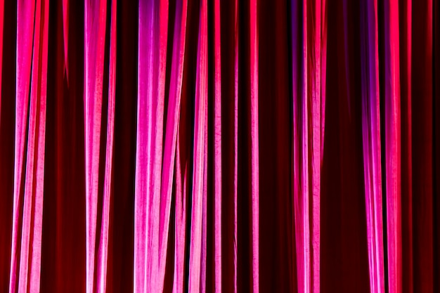 Texture background red curtain. Premium Photo