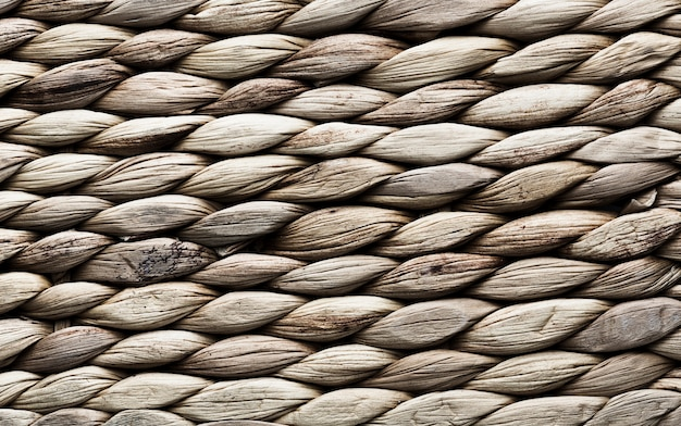 Texture background with horizontal rope stripes Free Photo