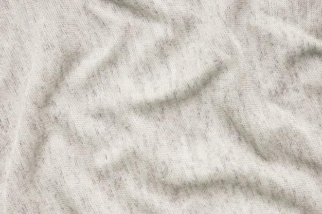 Texture of beige fabric white background Premium Photo